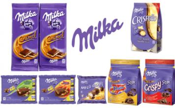 Echantillons produits Milka